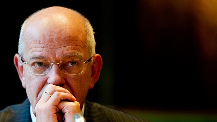 Gerrit Zalm, voorman van ABN Amro