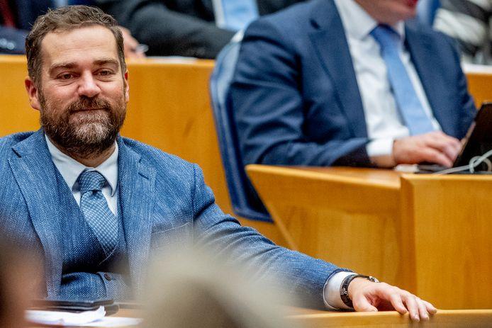 Klaas Dijkhoff (VVD) in de Tweede Kamer.