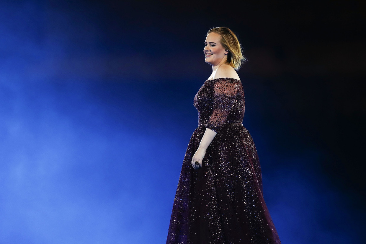 Adele in Syndey, 2017. Beeld Getty Images