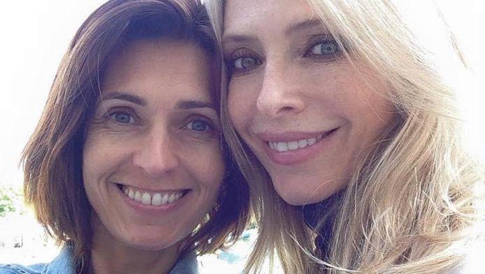 """Adeline Blondieau est restée en contact avec Tonya Kinzinger, l'autre star de la série """"Sous le soleil"""""""