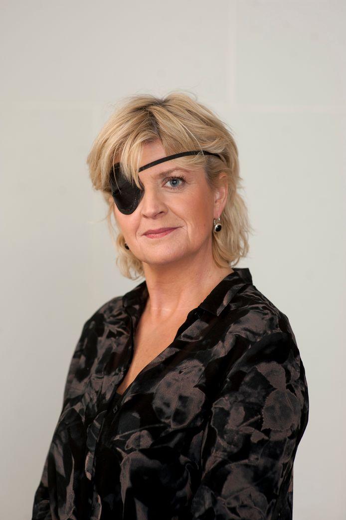 Sigrid Muusse raakte door een parasiet haar rechteroog kwijt.