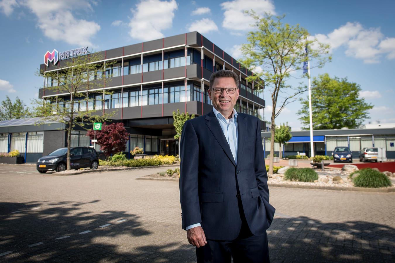Soweco-directeur Reinier van Broekhoven, in betere tijden voor de sociale werkvoorziening.