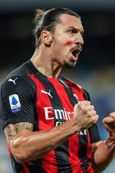 Ibrahimovic schittert ook in topper tegen Napoli: goals met kop en knie