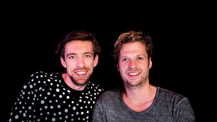 Mattie en Wietze maken volgens het AD de overstap van QMusic naar Sky Radio. Beeld anp