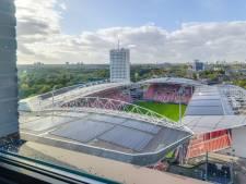Vanuit je appartement de wedstrijden van FC Utrecht kijken? Dat kan voor 1,4 miljoen euro