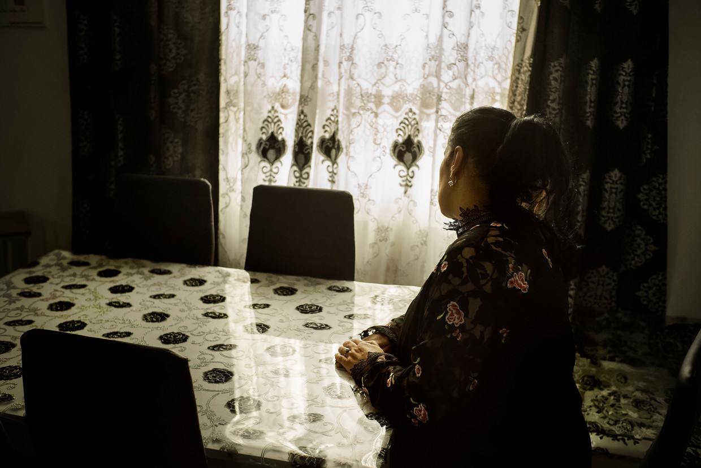 Samira Laakel, de moeder van Nora Verhoeven. Beeld Eric de Mildt