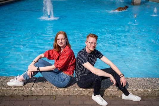 Zwillingsschwestern Echte lesbische Homosexuelle machen