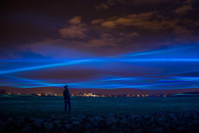 Het project Waterlicht van Daan Roosegaarde.