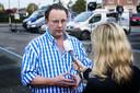Organisator Geerlof Kanis van het evenement stond een dag na het ongeluk met een monstertruck de pers te woord.