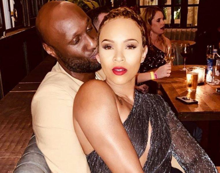 Lamar en zijn Sabrina.