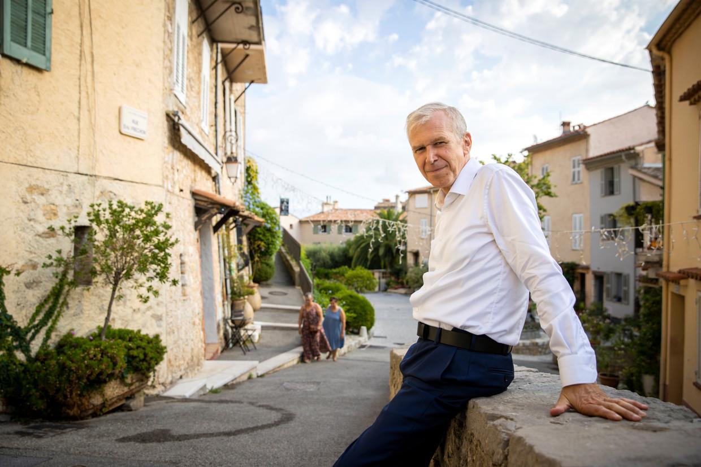 Yves Leterme in Mougins, Zuid-Frankrijk. Beeld Photo News