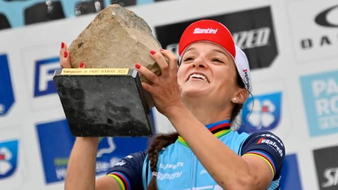 Epische Parijs-Roubaix maakt diepe indruk op wielrensters: 'We zijn onderdeel van de geschiedenis'