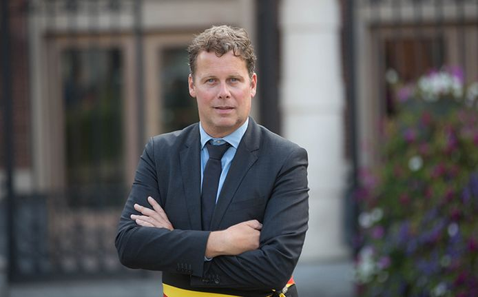 Burgemeester Raf Terwingen (CD&V).