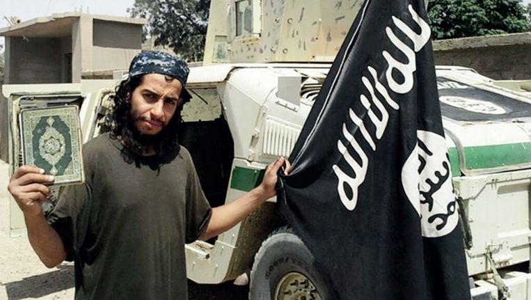 De gedode terrorist Abdelhamid Abaaoud. Beeld ap