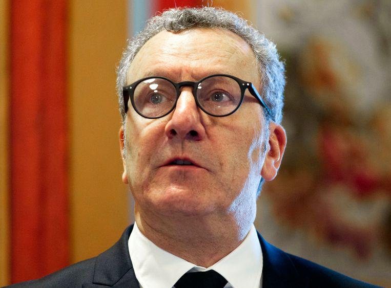 De Brusselse burgemeester Yvan Mayeur. Beeld AP