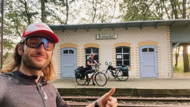 Met dikke blaren op hun billen fietsen Tukkers Schimmelpenninck en Borghouts door Polen