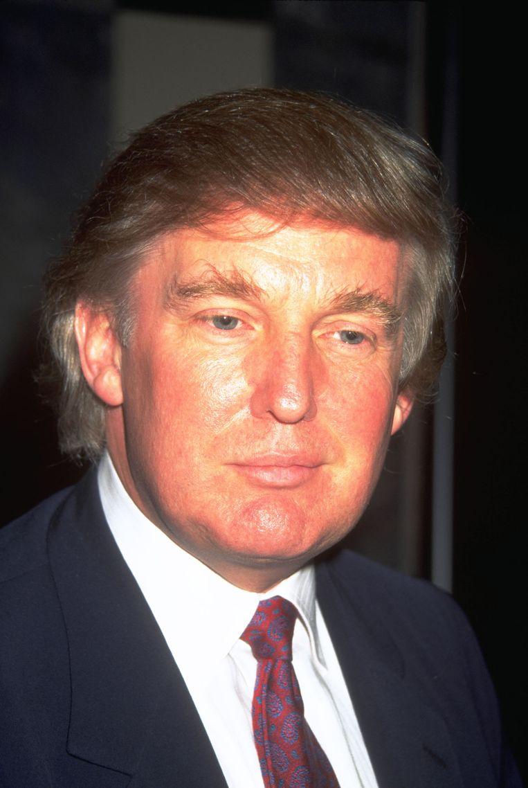 Donald Trump in 1999. Beeld getty