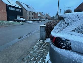 Weinig sneeuw in het Hageland, maar sommigen probeerden toch met de slee een helling af te glijden