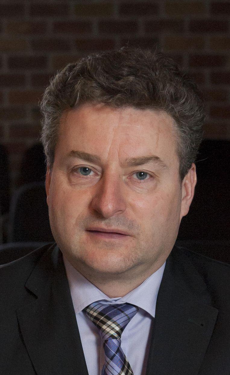 Burgemeester Koen Van den Heuvel.