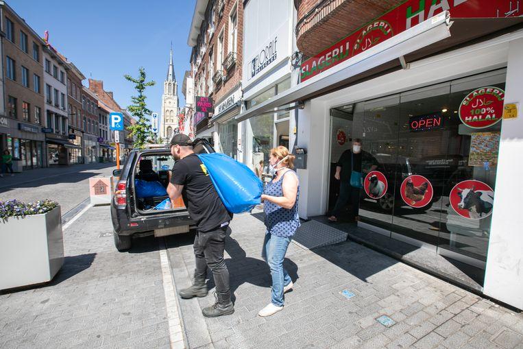 Op 18 mei viel de FOD Volksgezondheid binnen in de halalslagerij in de Luikerstraat in Sint-Truiden.