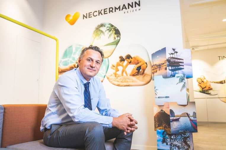 CEO van Neckermann Laurent Allardin.  Beeld Wannes Nimmegeers