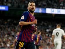Jordi Alba verlengt tot zomer van 2024 bij Barça