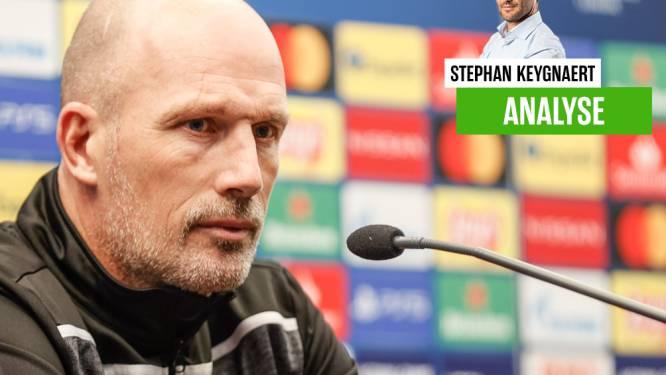 """Onze chef voetbal vindt dat Clement na zijn uitbrander niet de mist mag ingaan: """"Want dan mogen wij hém hard aanpakken, toch?"""""""