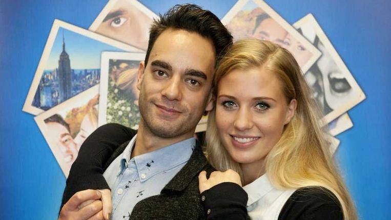 Freek Bartels en Celinde Schoenmaker Beeld anp