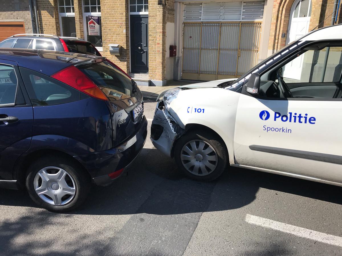 Maandag vond er een wilde carjacking plaats in Veurne.