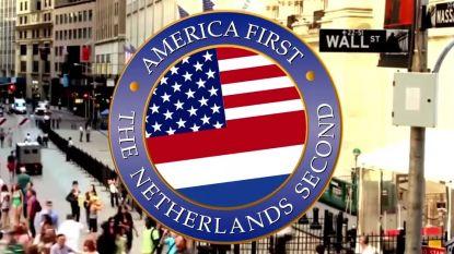 Viraal 'The Netherlands Second' filmpje over Trump maakt kans op een internet-Oscar