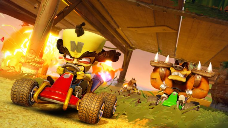 Crash Team Racing: Nitro-Fueled Beeld Activision