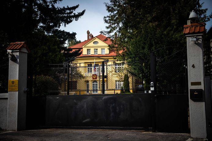 De Russische ambassade in Bratislava