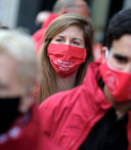 La FGTB organise une manifestation nationale vendredi