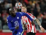 Chelsea in Londense derby moeizaam langs Brentford