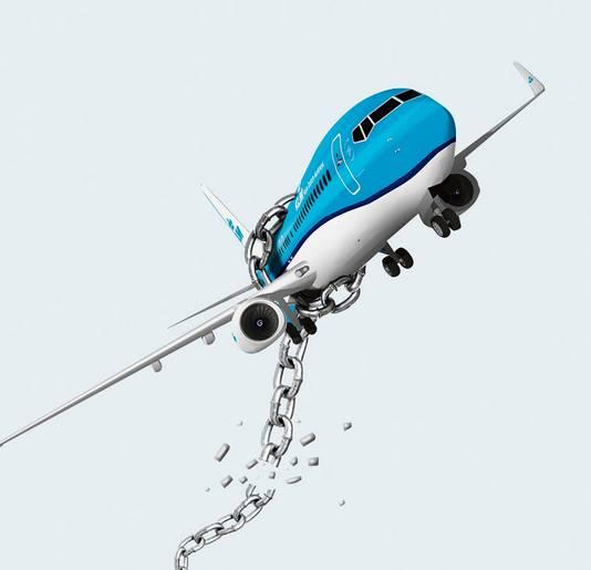 KLM moet op eigen benen staan.