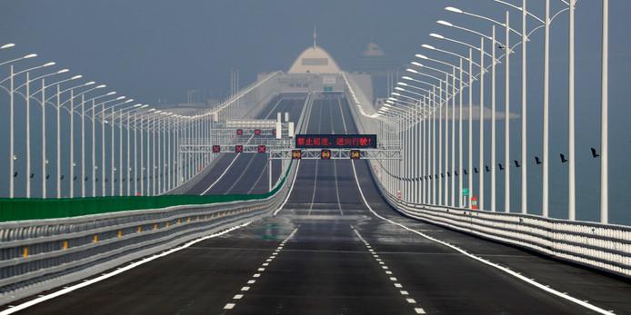 Citaten Zoon Hongkong : Langste zeebrug opent in china buitenland ad