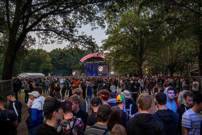 Publiek op hiphopfestival Woo Hah! Foto Pix4Profs/Edwin Wiekens