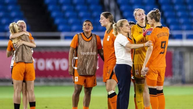Amerikaanse voetbalvrouwen schakelen Oranje uit na strafschoppen