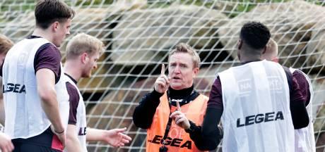 NEC neemt afscheid van trainer François Gesthuizen: 'Voor mij een teleurstelling'