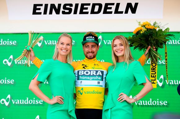 Peter Sagan in Zwitserland.