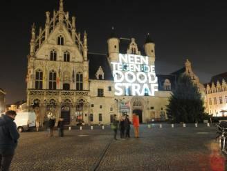 Monumenten lichten vanavond op tegen doodstraf