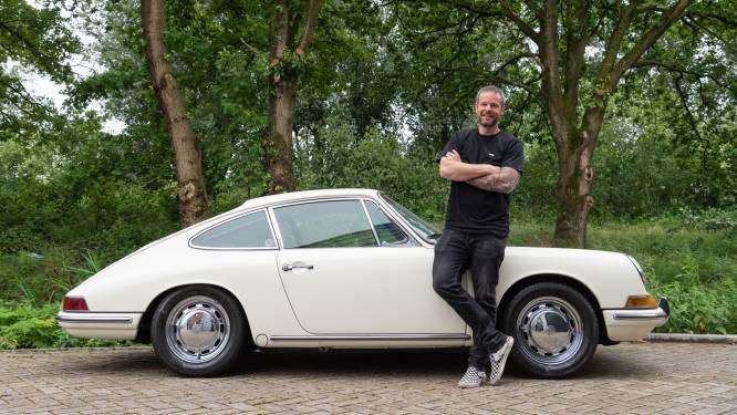 Niels hoeft niet per se te rijden in zijn auto om ervan te genieten: 'Hij staat ook gewoon mooi te zijn'