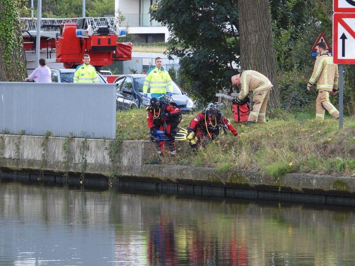Brugge: vermeende drenkeling Vaartdijkstraat