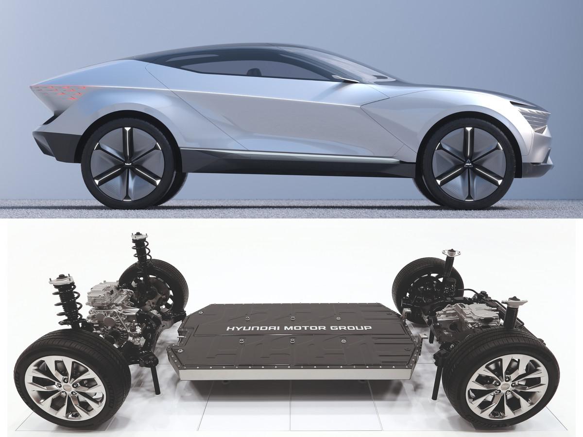 Kia en (zustermerk) Hyundai hebben het E-GMP platform ontwikkeld. Daarop zullen toekomstige modellen van deze fabrikant worden ontwikkeld, maar mogelijk vormt het ook de basis voor de nieuwe Apple-auto