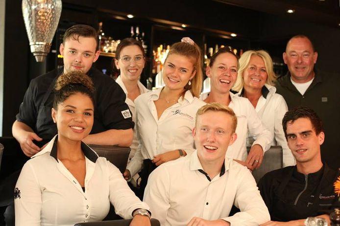 Het team van restaurant De Gezelligheid in Leusden.