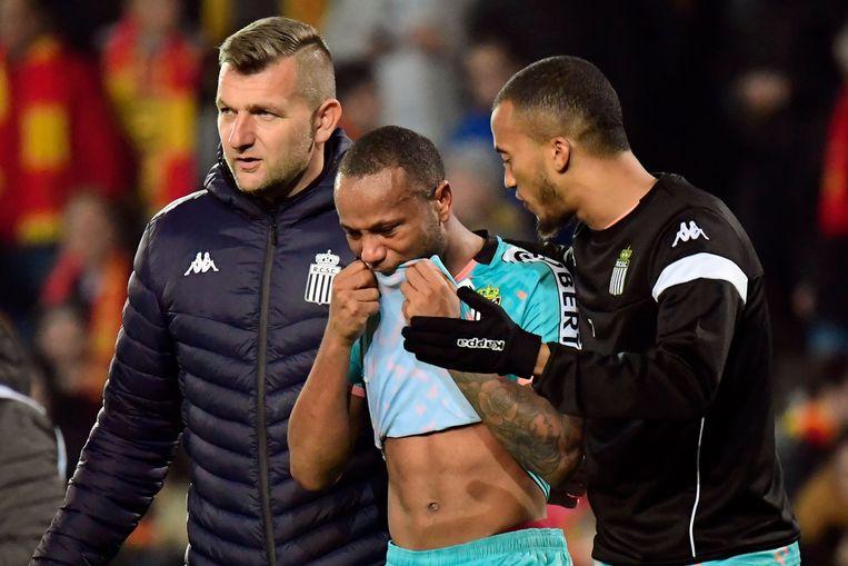Marco Ilaimaharitra werd het laatste slachtoffer van racisme op onze velden, na KV Mechelen-Charleroi.