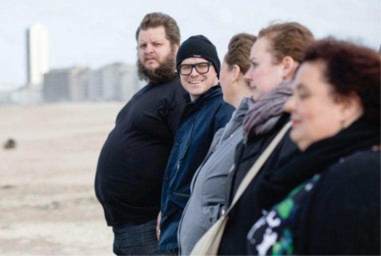 'In de laatste aflevering van 'Taboe' praatte Philippe Geubels met obese mensen: 'We laten ons valse behoeften aanpraten door de industrie van suiker- en vetrijk comfortvoedsel.'' Beeld