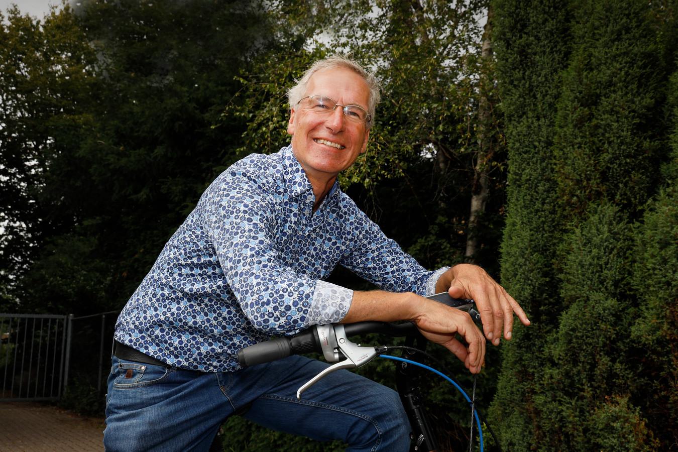Leo Bosland, wethouder voor GroenLinks in Wageningen.