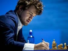 Zeldzame nederlaag wereldkampioen Carlsen in Wijk aan Zee