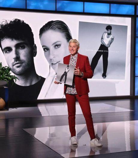 Duncan Laurence overdonderd door optreden bij Ellen DeGeneres: 'Ik leef hiervoor'